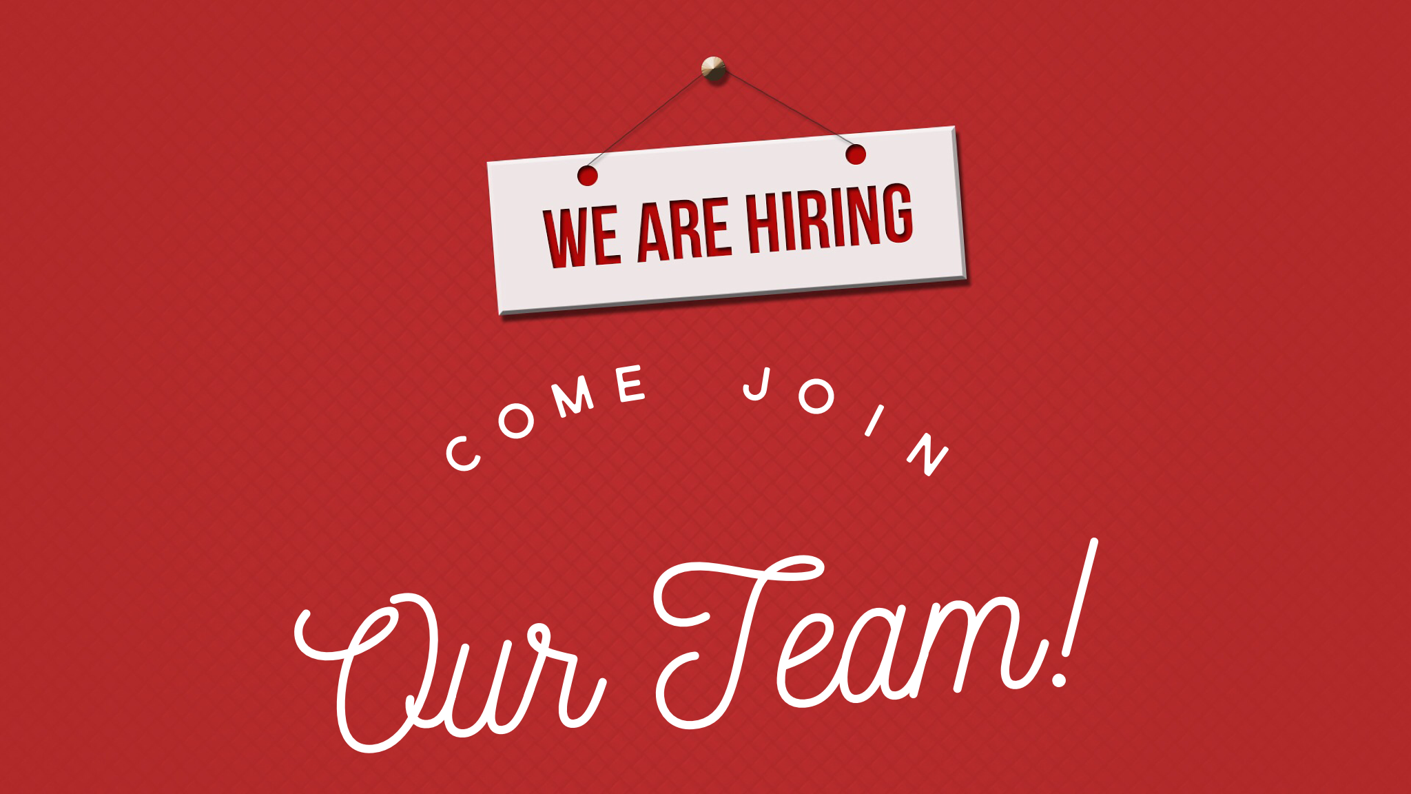 come join our team