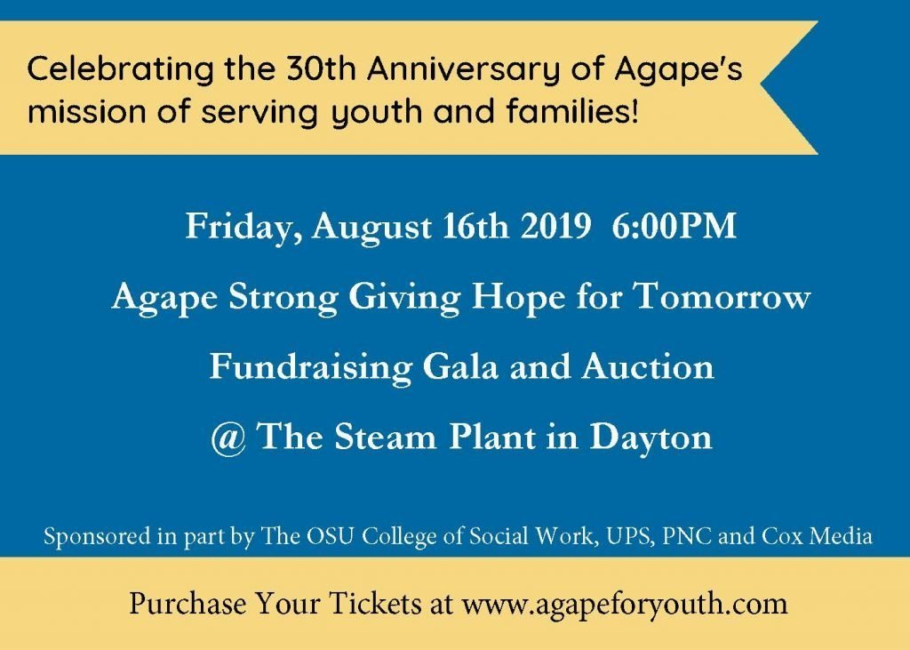 Agape Strong Giving Hope for Tomorrow Fundraising Gala